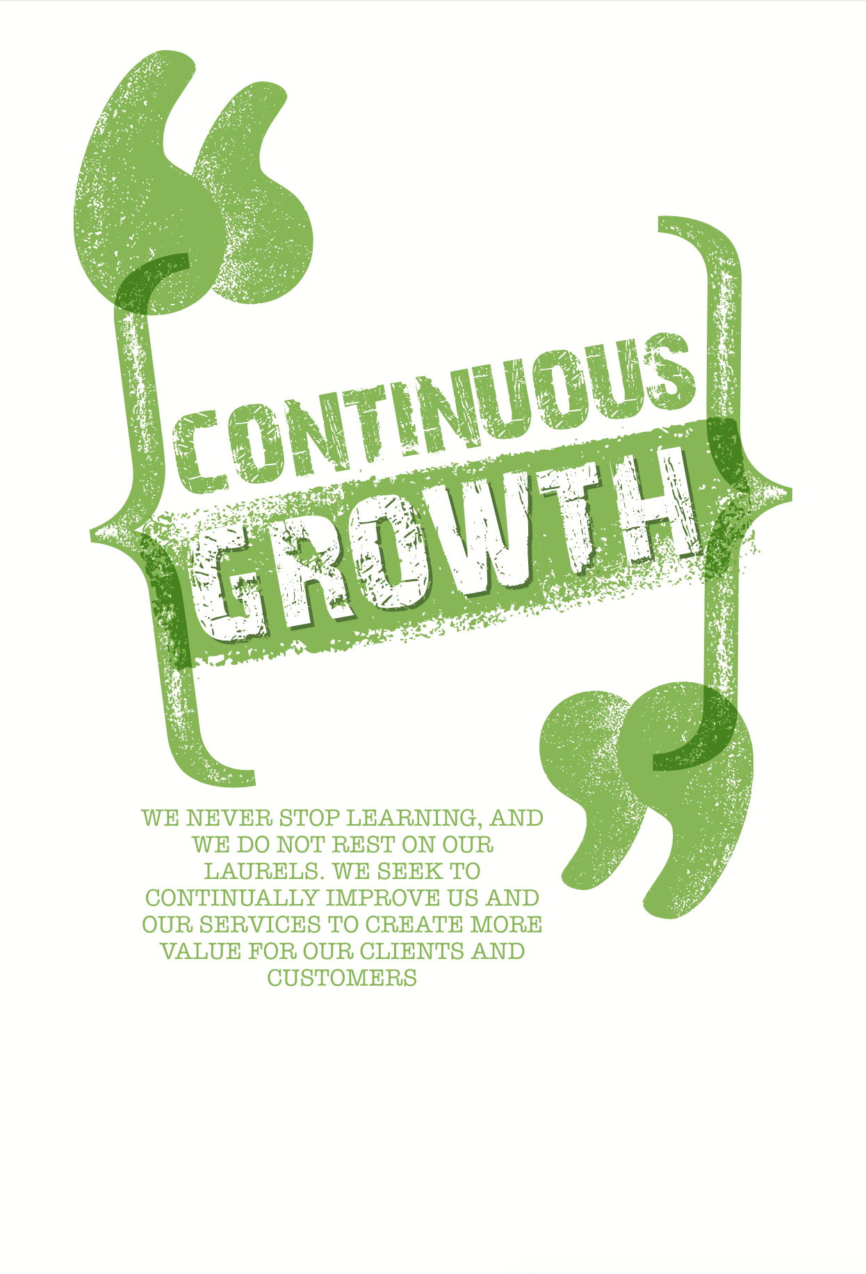 Harvest Wealth Group Core Values- Continuous Growth