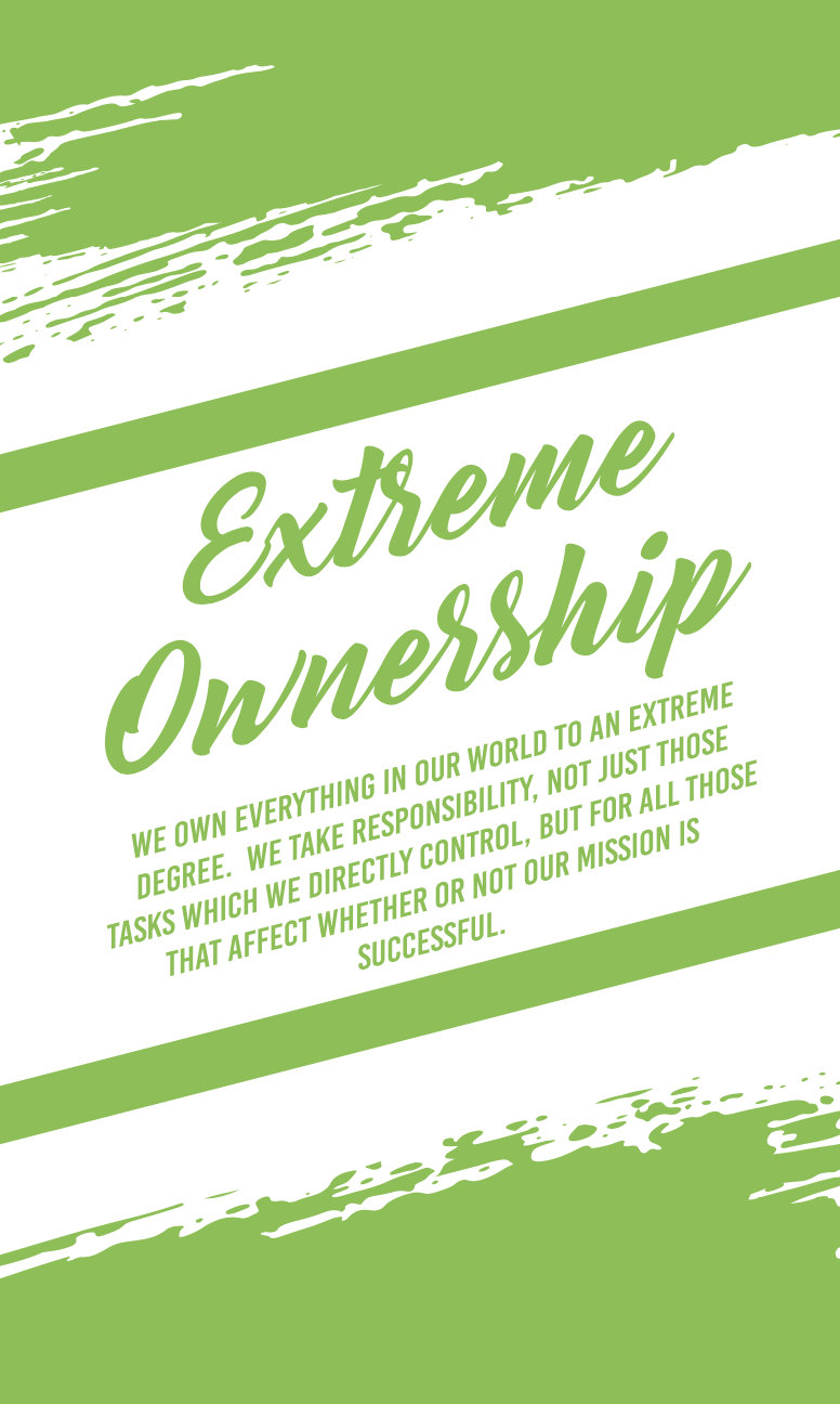 Harvest Wealth Group Core Values- Extreme Ownership-1