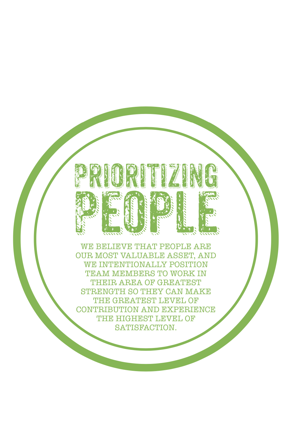 Harvest Wealth Group Core Values- Prioritizing People